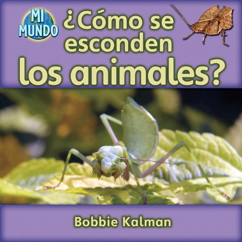 9780778785927: Como se esconden los animales? / How Do Animals Hide?