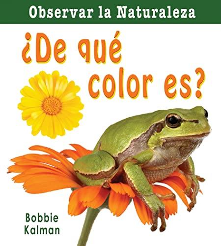 9780778787358: De Que Color Es? (Observar La Naturaleza)