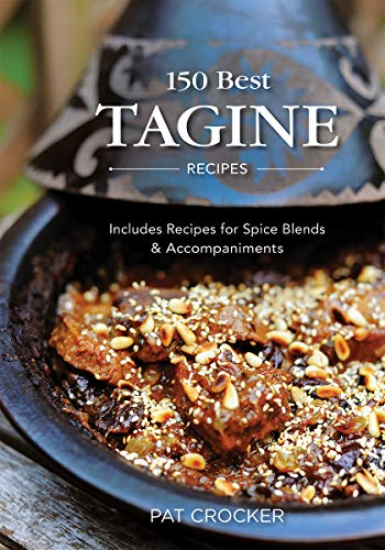 150 Best Tagine Recipes: Including Tantalizing Recipes for Spice Blends and Accompaniments 9780778802792 Authentic yet easy-to prepare recipes that take their inspiration from Morocco. Tagine takes its name both from a Moroccan dish as well as the pot in which the dish is cooked -- typically a large and shallow pot with a conical lid. Tagines involve the slow simmering of meats or vegetables along with a medley of herbs and spices, the result being an aromatic and intoxicating combination of taste and texture. This book offers a comprehensive history of traditional Moroccan tagine cooking, including an extensive  Tagine Know-How  section that answers all possible questions about tagines and cooking with tagines, as well as a  North African Flavor Footprint  section that profiles the 20 herbs and spices that give authentic flavor to these dishes. Home cooks can bring Morocco into their kitchens with these tantalizing dishes: Cinnamon lamb tagine with apricots Honey-ginger vegetable tagine Beef tagine with figs and walnuts Artichoke and shellfish in almond milk Minted lemon whitefish Saffron shrimp tagine with avocados Pomegranate chicken tagine Moroccan vegetable tagine Fiery beef tagine with vegetables. To round off the Moroccan experience of the meal, Pat Crocker also includes recipes for dips, sauces and authentic souk specialties (typical street foods sold in markets), salads and sides as well as the traditional beverages and sweets. With authentic yet easy-to prepare recipes that will please both meat eaters and vegetarians, home cooks can create a true North African taste odyssey.