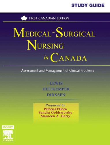 Medical-Surgical Nursing in Canada : Assessment and: Shannon Ruff Dirksen;