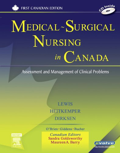 Medical-Surgical Nursing in Canada: Assessment and Management: Lewis RN PhD