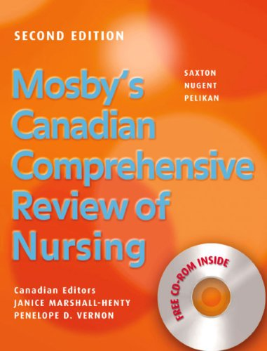 9780779699858: Mosby's Canadian Comprehensive Review of Nursing Text & Supplement Package