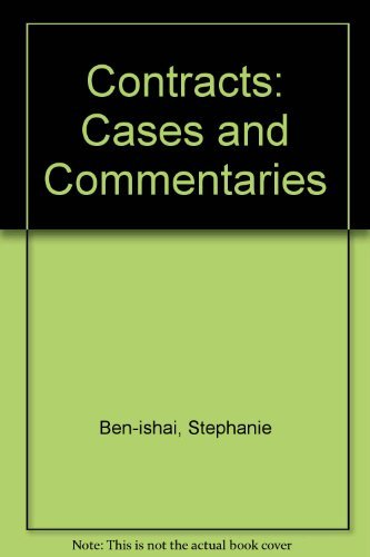 9780779821631: Contracts: Cases and Commentaries