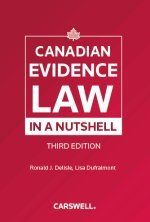 9780779823024: Canadian Evidence Law in a Nutshell