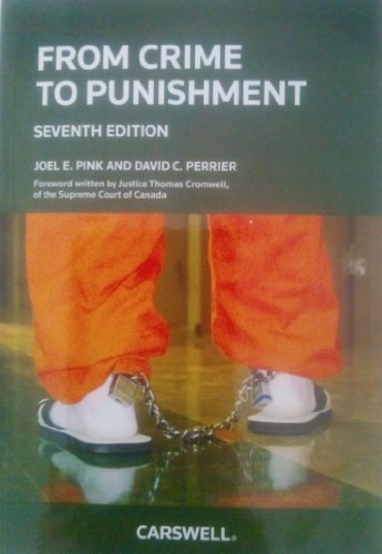 From Crime to Punishment: An Introduction to: Pink, Joel E.,