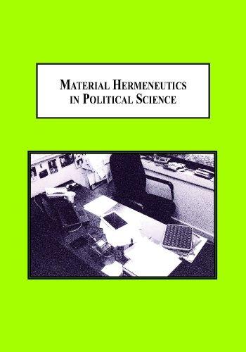9780779907021: Material Hermeneutics in Political Science: A New Methodology