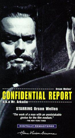 9780780020634: Confidential Report (AKA Mr. Arkadin) [VHS]