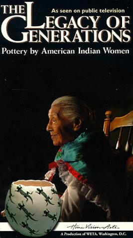 9780780020931: Legacy of Generations Pottery by American Indian Women [VHS]