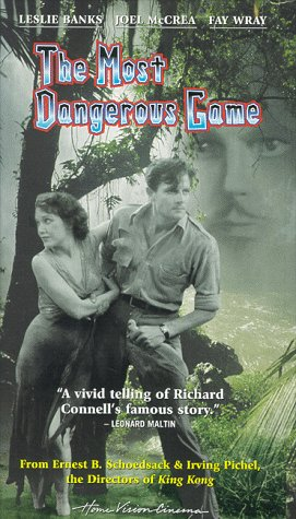 9780780021594: Most Dangerous Game [VHS]