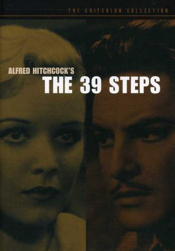 The 39 Steps (The Criterion Collection) Spine #56