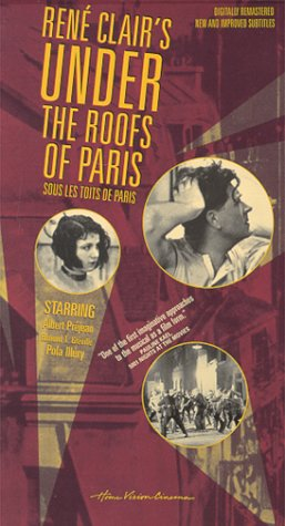 9780780023031: Under the Roofs of Paris [VHS] [Import USA]