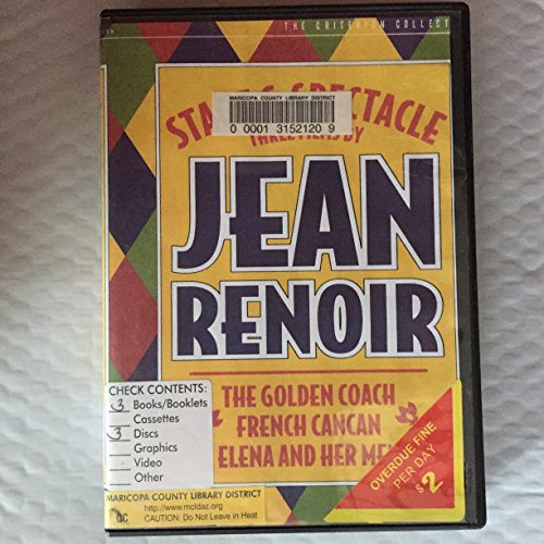 9780780028845: Stage and Spectacle: Three Films by Jean Renoir (The Golden Coach / French Cancan / Elena and Her Men) (The Criterion Collection)
