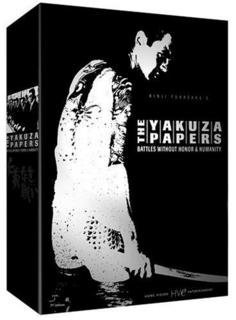 9780780029262: The Yakuza Papers: Battles Without Honor & Humanity (Complete Boxed Set)