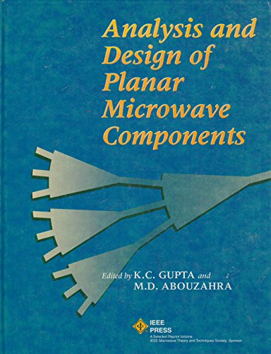 9780780304376: Analysis and Design of Planar Microwave Components