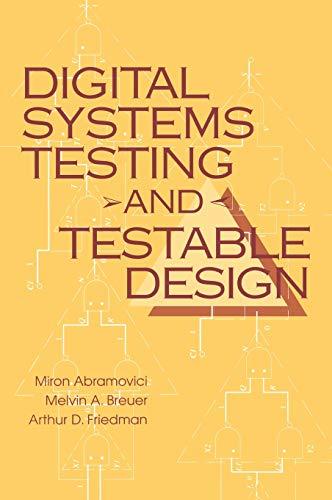 9780780310629: Digital Systems Testing & Testable Design