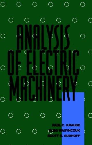 9780780311015: Analysis of Electric Machinery (IEEE Press Series on Power Engineering)