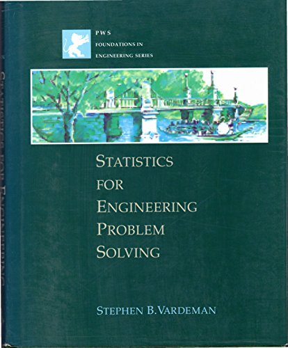 9780780311183: Statistics for Engineering Problem Solving (Pws Foundations in Engineering)
