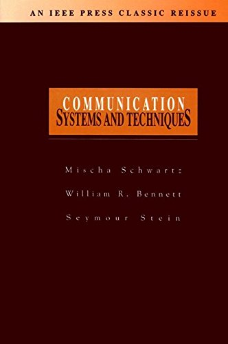 9780780311664: Communication Systems and Techniques