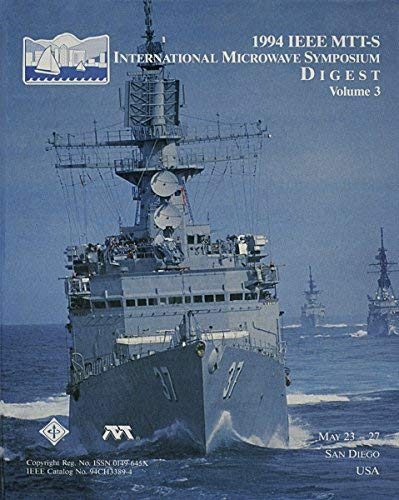 9780780317796: 1994 IEEE MTT-S International Microwave Symposium Digest (3 Volumes)