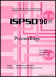 The 8th International Symposium on Power Semiconductor Devices and Ics Ispsd '96: Proceedings ...
