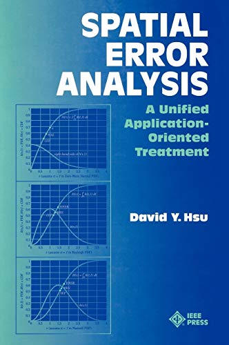 9780780334533: Spatial Error Analysis: A Unified Application-Oriented Treatment
