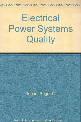 9780780334649: Electrical Power Systems Quality