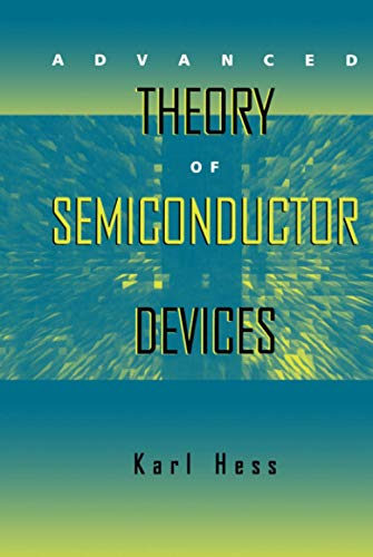 9780780334793: Advanced Theory of Semiconductor Devices