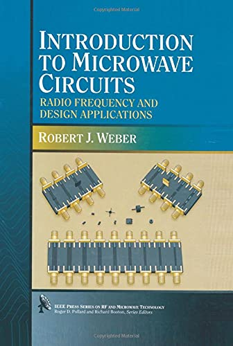 9780780347045: Introduction to Microwave Circuits: Radio Frequency and Design Applications