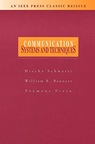 9780780347151: Communication Systems and Techniques
