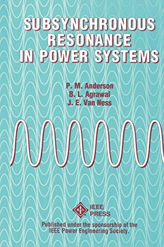 9780780353503: Subsynchronous Resonance in Power Systems