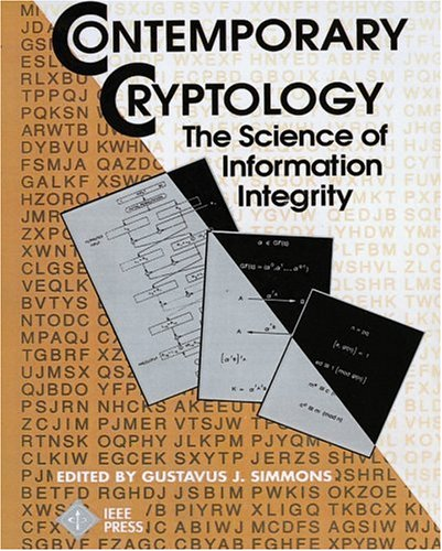 9780780353527: Contemporary Cryptology: The Science of Information Integrity