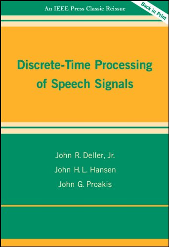 9780780353862: Discrete-Time Processing of Speech Signals