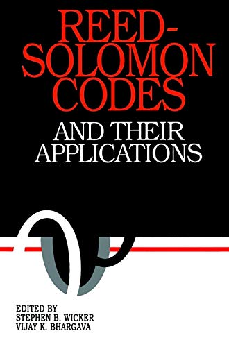 9780780353916: Reed-Solomon Codes and Their Applications