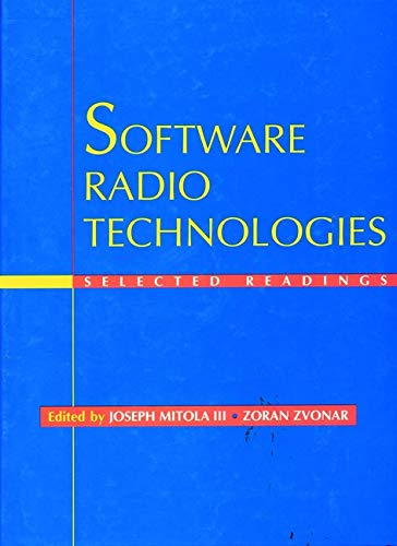 9780780360228: Software Radio Technologies: Selected Readings