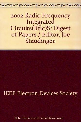 Radio Frequency Integrated Circuits (Rfic), 2002 Symposium: Washington) IEEE Radio