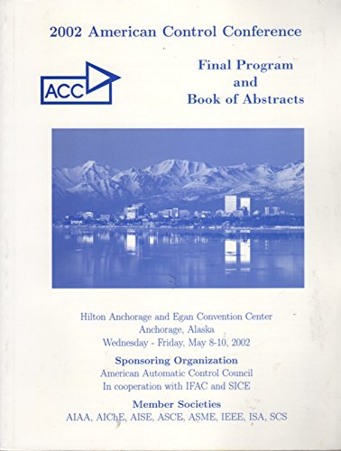 9780780372993: American Control Conference, 2002