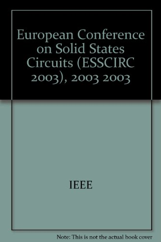 ESSCIRC 2003: Proceedings of the 29th European Solid-State Circuits Conference: Estoril, Portugal, ...