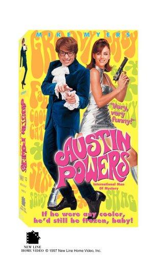 9780780619555: Austin Powers - International Man of Mystery [VHS]