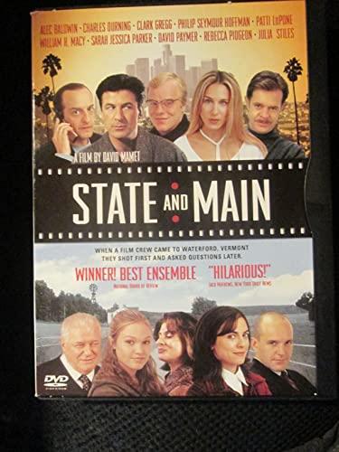 9780780634954: State & Main [Reino Unido] [DVD]