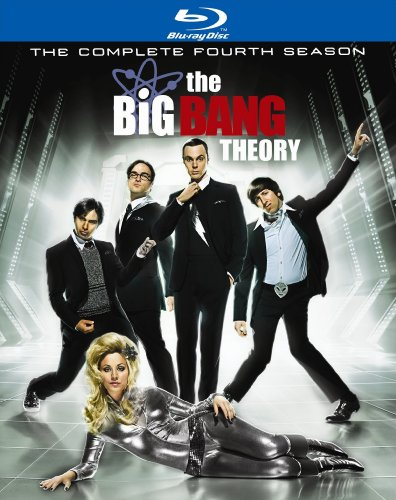 9780780668058: The Big Bang Theory: The Complete Fourth Season (With Limited Edition Q&A Bonus Disc) [Blu-ray]