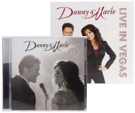 """9780780681989: Donny & Marie (Deluxe Edition with """"Live In Vegas"""" Bonus CD)"""