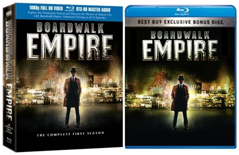 9780780684362: Boardwalk Empire: The Complete First Season (Best Buy Exclusive Edition with Bonus Disc) [Blu-ray]