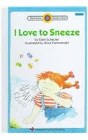 9780780714182: I Love to Sneeze (Bank Street Ready-To-Read)