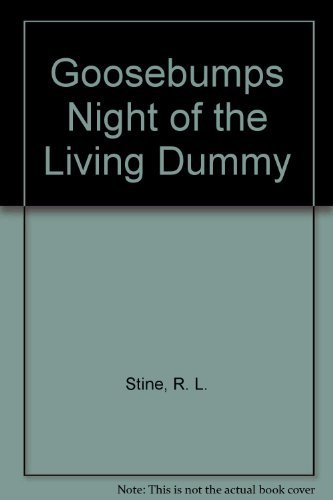 9780780731455: Goosebumps Night of the Living Dummy