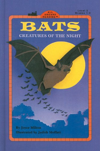 9780780731950: Bats: Creatures of the Night (All Aboard Reading: Level 2)