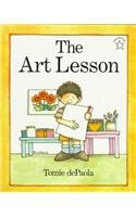 The Art Lesson (Paperstar Book): Tomie dePaola