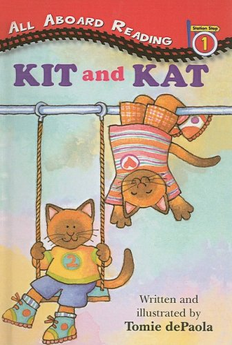 9780780743427: Kit and Kat (All Aboard Reading: Level 2)