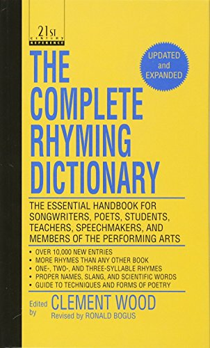9780780765573: The Complete Rhyming Dictionary