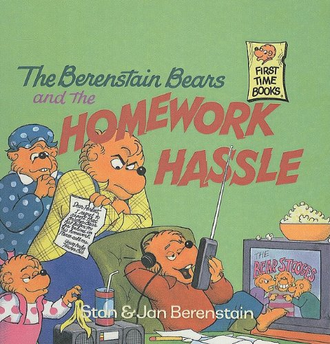 9780780776074: The Berenstain Bears and the Homework Hassle (Berenstain Bears First Time Books)