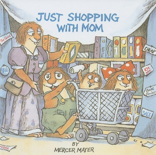 9780780776517: Just Shopping with Mom (Golden Look-Look Books)